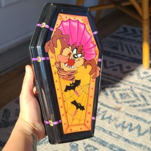 Vintage Taz Warner Bros. Candy Coffin